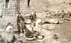 1950年代のペキイン村中心部の和泉